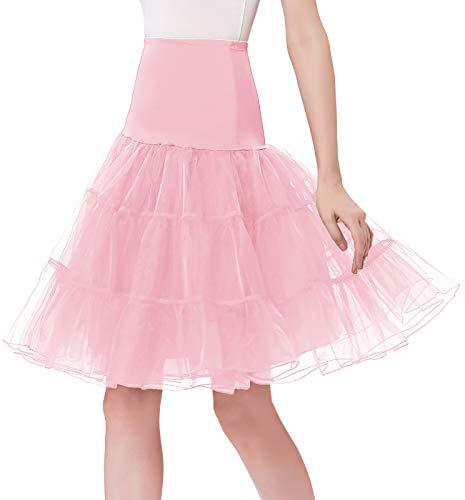 GRACE KARIN Women 50s Petticoat Skirts Tutu Crinoline Underskirt CL8922