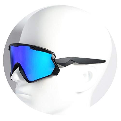 2019 Men Women 3 Lens Outdoor Sport Bike Bicycle glasses Cycling Sunglasses Cycling Eyewear,7072N03