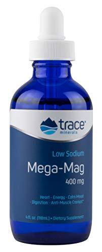 - Trace Minerals Liquid Mega-Mag, 400 mg, 4 Ounce
