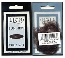 Pack of 3 Lion Bun Nets