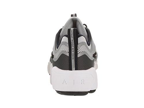 Zapatillas Nike Zoom Sprdn met¨¢lico plateado / negro / blanco / rojo desierto para hombre 13 hombres US