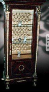 Barock Vitrine Rokoko Antik Stil Schrank Louis XV MoVi0678