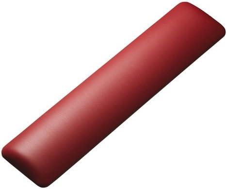(6個まとめ売り) サンワサプライ キーボード用リストレスト(レザー調素材、レッド) TOK-GELPNLR