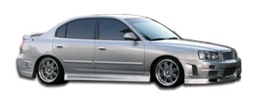 - Duraflex ED-RIK-035 Skyline Side Skirts Rocker Panels - 2 Piece Body Kit - Compatible For Hyundai Elantra 2001-2006