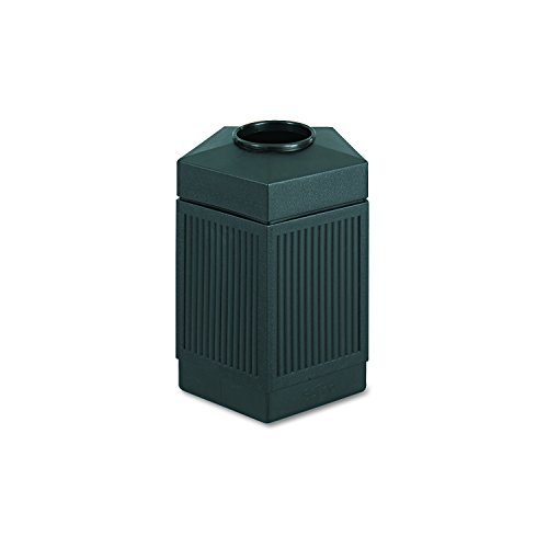 Safco Products 9486BL Canmeleon Indoor/Outdoor Waste Receptacle, Pentagon, 45-Gallon, - City Pentagon In Shops