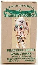 Amazon com: American Indian Herb Co - Peaceful Spirit - Shaman's