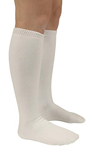 (Walking Boot Sock Liner - High Top Tall Cam Walker Boot - Premium Soft Fabric - 19 Inch - 2 Socks )