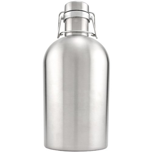Stainless Steel Beer Growler - 64 oz KegWorks SYNCHKG037765