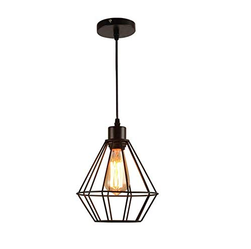 Pendant Light Industrial Design E27 Restaurant Bar Table Industrial Wind Chandelier Hanging Lamp,Better Homes & Gardens 7.87