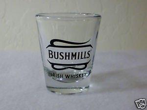One Bushmills Irish Whiskey Shot Glass - (1)