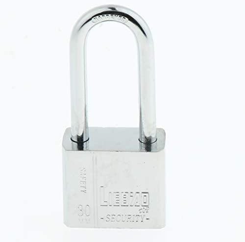 shamjina 3mmの高い安全性4キーの南京錠の頑丈な鋼鉄反錆シャッターシャックル