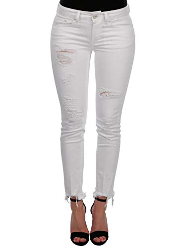 P692bs009dr23000 Cotone Jeans Dondup Donna Bianco BY7wRPWaq