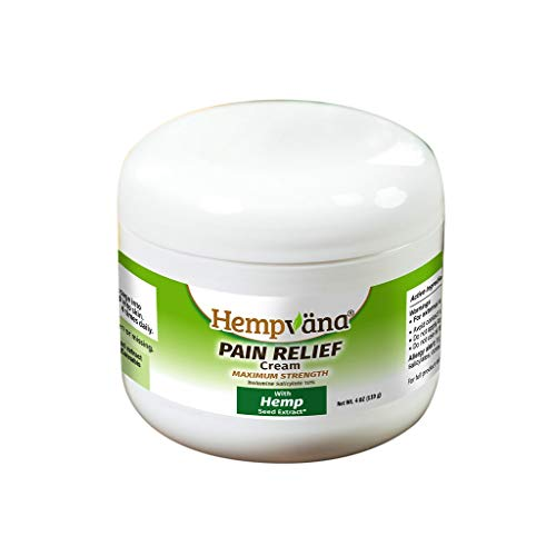 As Seen On TV Hempvana Pain Relief Cream for Arthritis by BulbHead - The Hemp Cream for Pain Relief & Joint Pain Relief with Hem