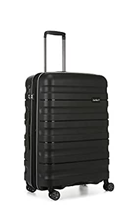 Antler 4227124016 Juno 2 4W Medium Roller Case Suitcases (Hardside), Black, 68 cm