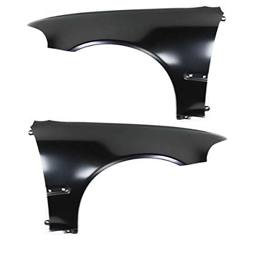 Koolzap For 92-95 Civic Front Fender Quarter Panel Left Right Side SET ()