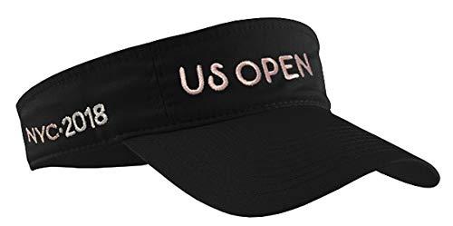 BD INNOVATION ELECTRONICS US Open Black Tennis Visor