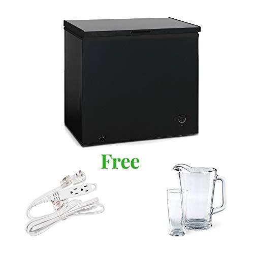 Arctic King Chest Freezer (Black, 20.60 x 28.70 x 33.50 Inches)