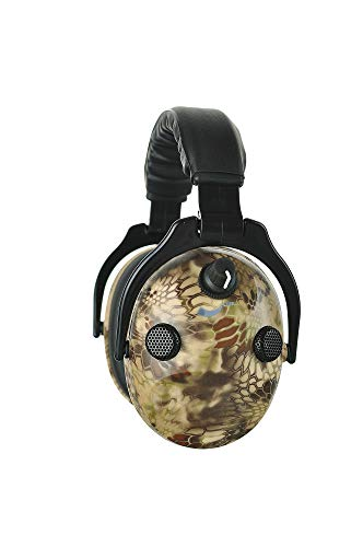 PROTEAR Earmuffs Noise Cancelling Hearing Protection Folding Headphones, 9X Hearing Enhancement Earmuffs with Black Case Bag by PROTEAR (Image #1)