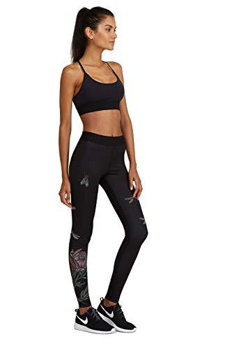 Verve Yoga Pants - Noli Yoga Legging (Verve Black, X-Small)