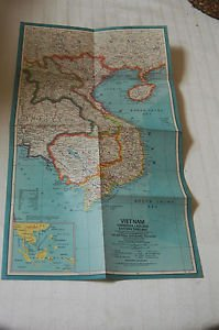 Vietnam, Cambodia, Laos and Eastern Thailand 1964...