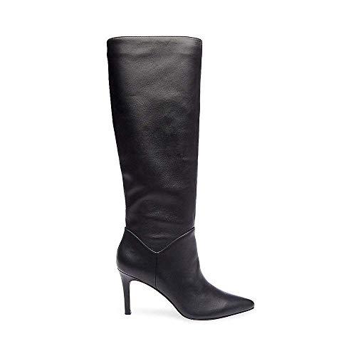 Women's Us Black Boot Leather Dress Kinga Madden 7 Steve 5 4qzwtf5xa