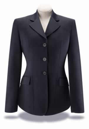 (RJ Classics Ladies Xtreme Collection Show Coat - Navy Solid with Navy Lining 10 Regular)