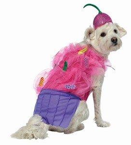 Rasta Imposta Cupcake Dog Costume, Small, My Pet Supplies