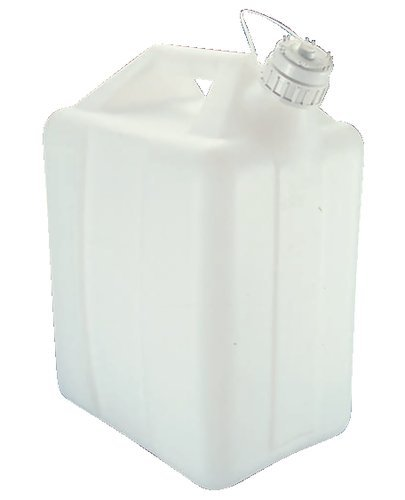 (Nalgene Natural High-Density Polyethylene Jerricans, 10L Capacity, 246mm L x 199mm W (Case of 6))