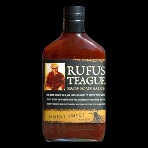 Rufus Teague, Award Winning - Honey Sweet BBQ Sauce, 16 Ounc
