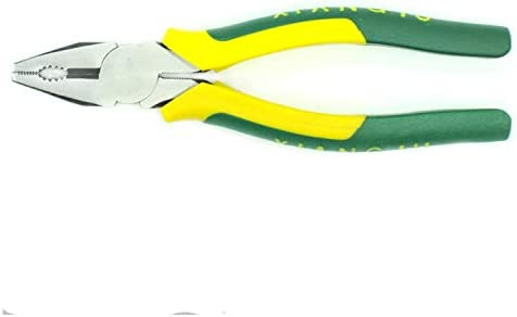 HYBJP ワイヤーカッター アメリカ 磨く ポリ塩化ビニール ハンドル 多機能 ハードウェア 手動用具 (Size : 7 inch)