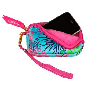 Lilly Pulitzer Tech Wristlet / Camera Case   Dirty Shirley
