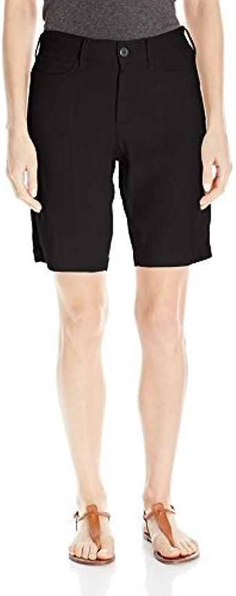 NYDJ Womens Petite Bermuda Linen Short