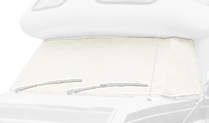Mini Home Covers - Classic Accessories 80-RV RV Windshield Cover Models: Model 6, Color: Snow White