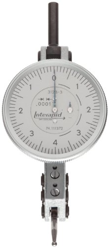 Horizontal Tool Type (Brown & Sharpe TESA 74.111372 Interapid 312 Dial Test Indicator, Horizontal Type, M1.7x4 Thread, 0.157