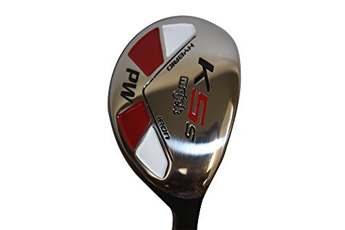 Majek Golf Petite Senior Lady PW Hybrid Lady Flex Right Handed New Rescue Utility''L'' Flex Club (Petite - 5' to 5'3'') by Majek Golf (Image #2)