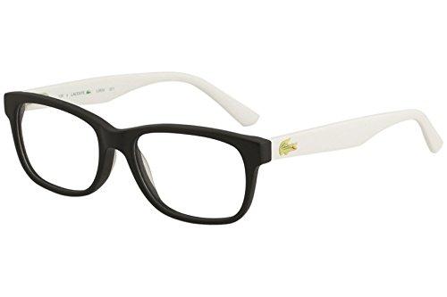 LACOSTE Eyeglasses L3604 001 Black 49MM (Lacoste Black Eyeglasses)