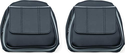 - Kuryakyn 5208 Lower Fairing Panel Door Pockets with Magnetic Closures for 2014-19 Harley-Davidson Motorcycles, Black, 1 Pair