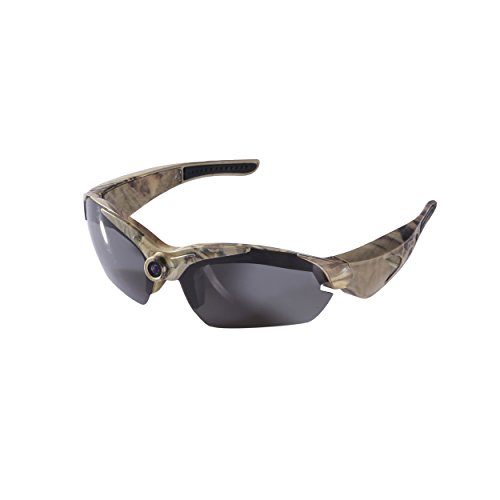 OHO 8GB 1080 HD Hunting Video Sunglasses with Wide Angle Video Recording Sport Sunglasses DVR Eyewear Sports Action Camera and UV Impact Resistant - Videos Sunglasses
