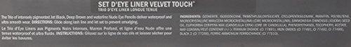 JAPONESQUE Velvet Touch Eye Pencil Set