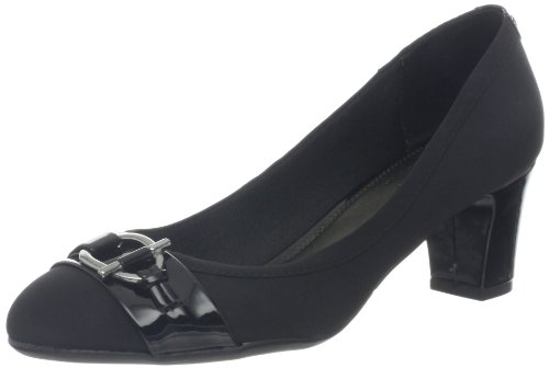Lifestride Womens Aquaint Pump Black Fabric