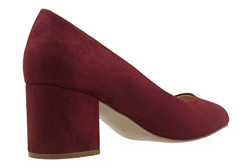 FITTERS Footwear - SESY - Donna Scarpe scollate - bordeaux scarpe in taglie grandi