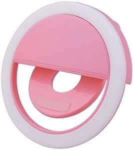 Selfie Ring Light 3 levels of light pink color