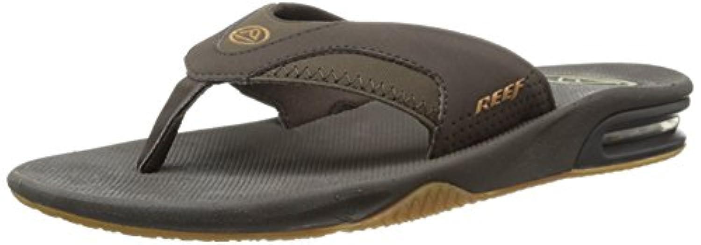 Reef Fanning, Men's Athletic Sandals, Schwarz/gold (black/gold), UK 10 / EU 44 / US 11 / AUS 11
