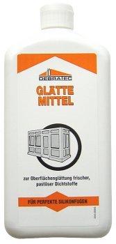 Debratec Glättemittel für Silikon Fugen, das Profi Glättmittel für perfekte Silikonfugen 1 Liter Fertiggemisch