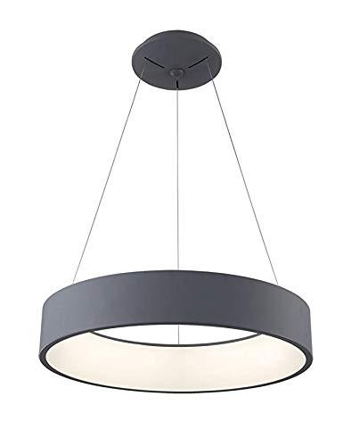 Lxhgl Lámpara Colgante LED lámpara 25W Regulable lámpara ...