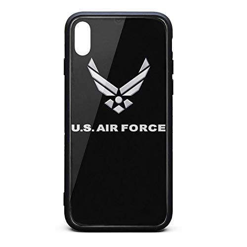 USAF Phone Case for iPhone Xs Max TPU Full Protective Best Anti-Scratch Fashionable Glossy Anti Slip Thin Shockproof Soft ()