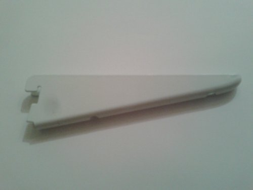 Pack of 10 Twin Double Slot Shelving Brackets Size 120mm by Comyn Ching (Twin Slot Bracket)
