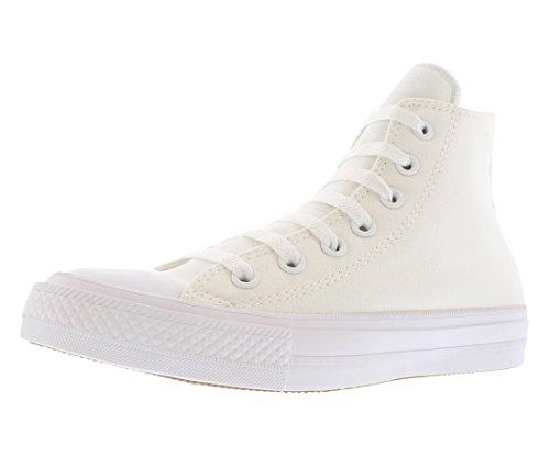 Converse Chuck Taylor Tout Étoiles Paillettes Haut Top Sneakers Blanc / Blanc-marine