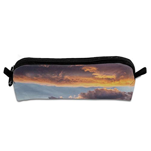 Kui Ju Pencil Bag Pen Case Fantasy Cloud Cosmetic Pouch Students Stationery Bag Zipper Organizer]()