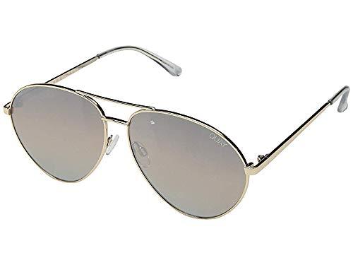 Quay Women's Just Sayin Sunglasses, Gold/Brown, One ()